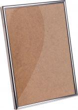 Рамка Нельсон №2 цвет глянец серебро 10х15см